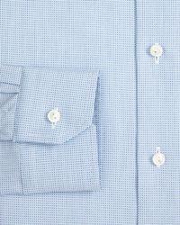 Eton of Sweden | Blue Mini Dot Dress Shirt - Regular Fit for Men | Lyst
