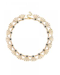 BaubleBar | Metallic Third Eye Collar | Lyst