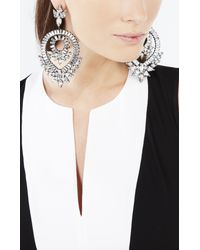 BCBGMAXAZRIA | Metallic Spike Stone Statement Earrings | Lyst