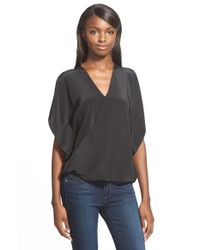 Bailey 44 | Black 'thompson' Silk Top | Lyst