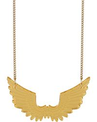 Tatty Devine | Metallic Pegasus Mini Necklace - For Women | Lyst