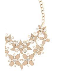 Coast - Pink Eadie Floral Necklace - Lyst