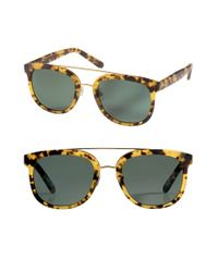 Krewe - Black 'cl-10' 53mm Polarized Sunglasses - Osaka Tortoise/ Polarized - Lyst