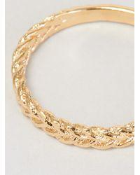 Helena Rohner | Metallic Simple Braid Gp Brass Ring | Lyst