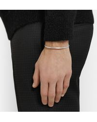Le Gramme - Metallic Le 7 Matte Sterling Silver Cuff for Men - Lyst