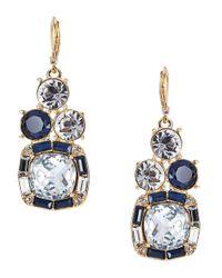 kate spade new york - Blue Capri Garden French Wire Earrings Bright Beryl - Lyst