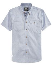 Wesc | Blue Hobson Shirt for Men | Lyst