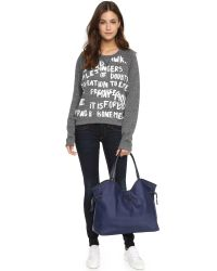 Tory Burch | Blue Slouchy Tote | Lyst