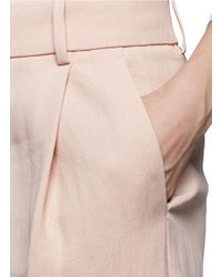 J.Crew | Pink Collection Italian Linen Short | Lyst