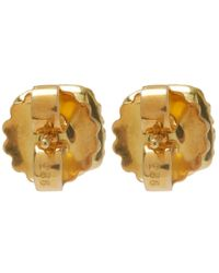 Larkspur & Hawk - Metallic Small Gold Topaz Jane Post Earrings - Lyst