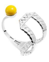 Eshvi | Metallic 'Braid' Cuff | Lyst