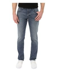Hudson Jeans - Blue Blake Slim Straight In Rotorhead for Men - Lyst