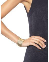 Carolina Bucci   Metallic Gold Multi Strand Wide Bracelet   Lyst