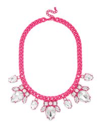 BaubleBar | Pink Dipped Scarab Collar | Lyst
