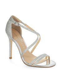 Ivanka Trump | Metallic Duchess Heel | Lyst