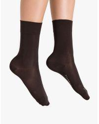 Falke | Brown Sensitive Granada Anklets | Lyst