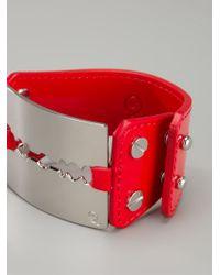 McQ | Red Razor Cuff | Lyst