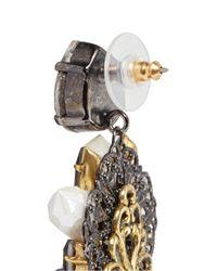 Erickson Beamon | Metallic 'weeping Angel' Crystal Drop Earrings | Lyst