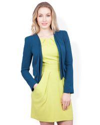 Closet | Green Faux Pocket Jacket | Lyst