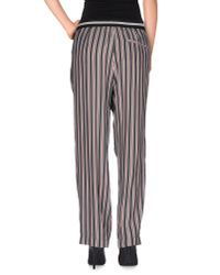 Mauro Grifoni - Gray Casual Pants - Lyst