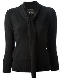 Pringle of Scotland - Black 'Princess Grace Archive Collection' Sweater - Lyst
