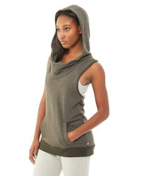 Alternative Apparel - Natural Game Changer Organic Light French Terry Hoodie - Lyst