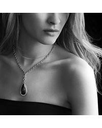 David Yurman | Metallic Anjou Necklace With Diamonds | Lyst