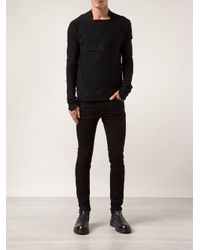Ma+ - Black Long - Sleeve Top for Men - Lyst