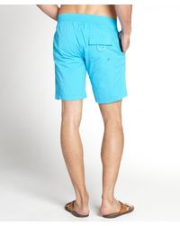 Onia - Atomic Blue 'kal' Board Shorts for Men - Lyst