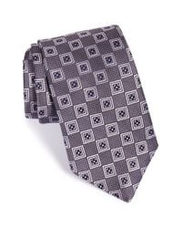JZ Richards | Purple Medallion Woven Silk Tie for Men | Lyst