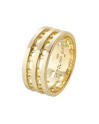 Carolina Bucci | Metallic Blade 18k Gold Ring | Lyst