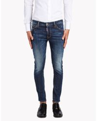 DSquared² | Blue Long Crotch Jeans for Men | Lyst