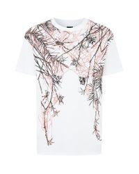 McQ - White Romantic Spider Tshirt for Men - Lyst
