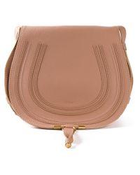 Chloé - Pink Large 'marcie' Shoulder Bag - Lyst
