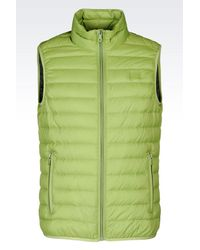Armani Jeans - Green Ultra Light Down Jacket for Men - Lyst