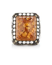 Sevan Biçakci - Orange Butterfly Intaglio Ring - Lyst