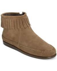 Aerosoles | Brown Linbo Booties | Lyst