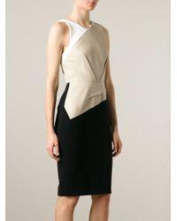 Roland Mouret - Black 'Arley' Dress - Lyst