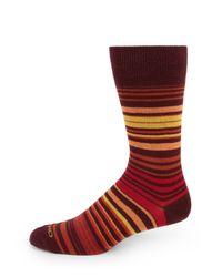 Etro - Multicolor Stripe Dress Socks for Men - Lyst