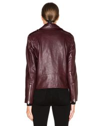 IRO | Red Glip Jacket | Lyst