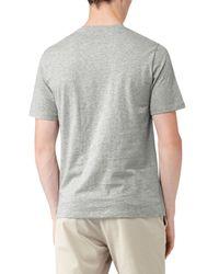Reiss - Gray Marble Fleck Print T-shirt for Men - Lyst