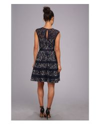 Eliza J | Blue Lace Party Dress | Lyst