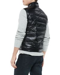 Moncler - Black Gui Quilted Puffer Vest for Men - Lyst