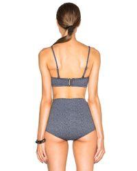 Prism - Gray Rockaway Bikini Top - Lyst