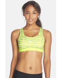 Nike - Yellow 'pro Classic' Dri-fit Sports Bra - Lyst