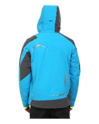 Spyder - Blue Chambers Jacket for Men - Lyst