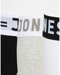 Jack & Jones - Multicolor 3 Pack Briefs for Men - Lyst
