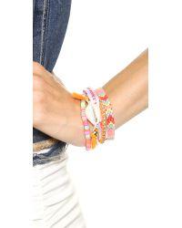 Hipanema - Orange Life Bracelet Multi - Lyst