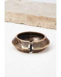Forever 21 - Metallic Etched Hinge Bracelet - Lyst