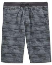 American Rag | Metallic Printed Twill Shorts for Men | Lyst